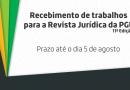 Revista Jurídica da PGE 2016