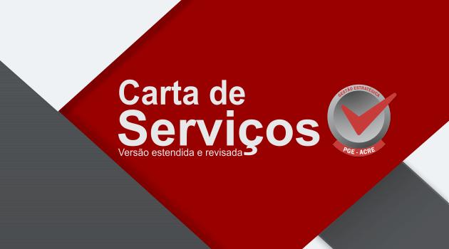 PGE lança Carta de Serviços