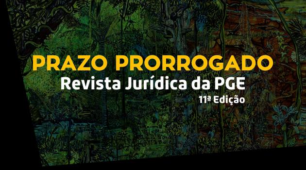 Revista Jurídica PGE: Prorrogado prazo de recebimento de trabalhos técnicos-científico
