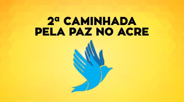 PGE apoia caminhada pela PAZ