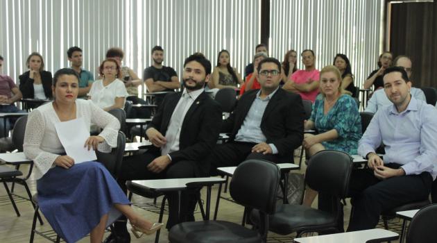PGE realiza ação de integração na instituição