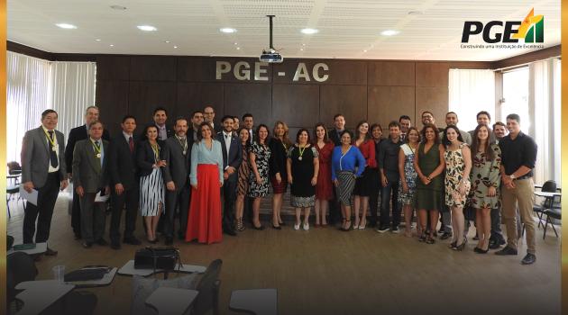 PGE AC celebra 41 anos de história