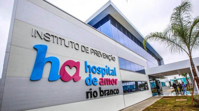 Inauguração do Hospital do Amor