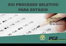 XIII Processo Seletivo de Direito PGE