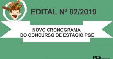 NOVO CRONOGRAMA