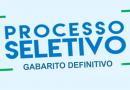 Gabarito Definitivo do XIV Processo Seletivo Estágio PGE